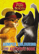 Puss In Boots  Bumper Colouring   Activity Book Book