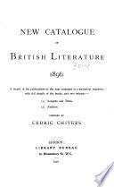 New Catalogue of British Literature