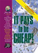 Jerry Baker's It Pays to Be Cheap