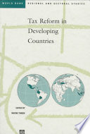 Tax Reform in Developing Countries  , Band 235
