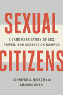 Pdf Sexual Citizens: A Landmark Study of Sex, Power, and Assault on Campus