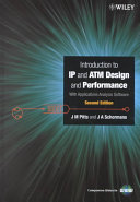 Introduction to IP and ATM Design and Performance