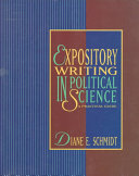 Expository Writing In Political Science Book PDF