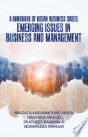 A Handbook of Asean Business Cases  Emerging Issues in Business and Management Book