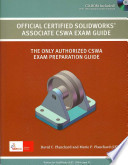 Official Certified Solidworks Associate CSWA Exam Book