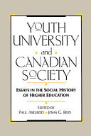 Youth  University and Canadian Society