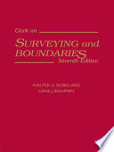 Clark on Surveying and Boundaries