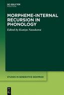 Morpheme-internal Recursion in Phonology [Pdf/ePub] eBook