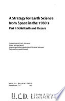 A Strategy for Earth Science from Space in the 1980's: Solid earth and oceans