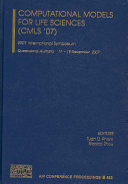 Computational Models For Life Sciences  CMLS  07