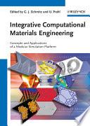 Integrative Computational Materials Engineering Book PDF