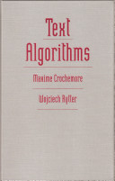 Text Algorithms