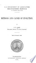Methods and Causes of Evolution