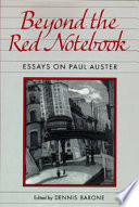 Beyond the Red Notebook Book