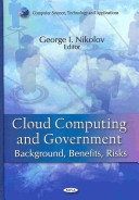 Cloud Computing and Government Book