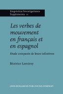 Pdf Les verbes de mouvement en français et en espagnol Telecharger