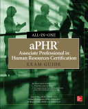 aPHR Associate Professional in Human Resources Certification All-in-One Exam Guide Pdf/ePub eBook