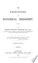 The Principles of Economical Philosophy Book