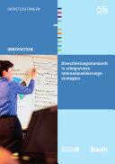 Dienstleistungsstandards in erfolgreichen Internationalisierungsstrategien