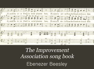 Improvement Association Song Book (1887)