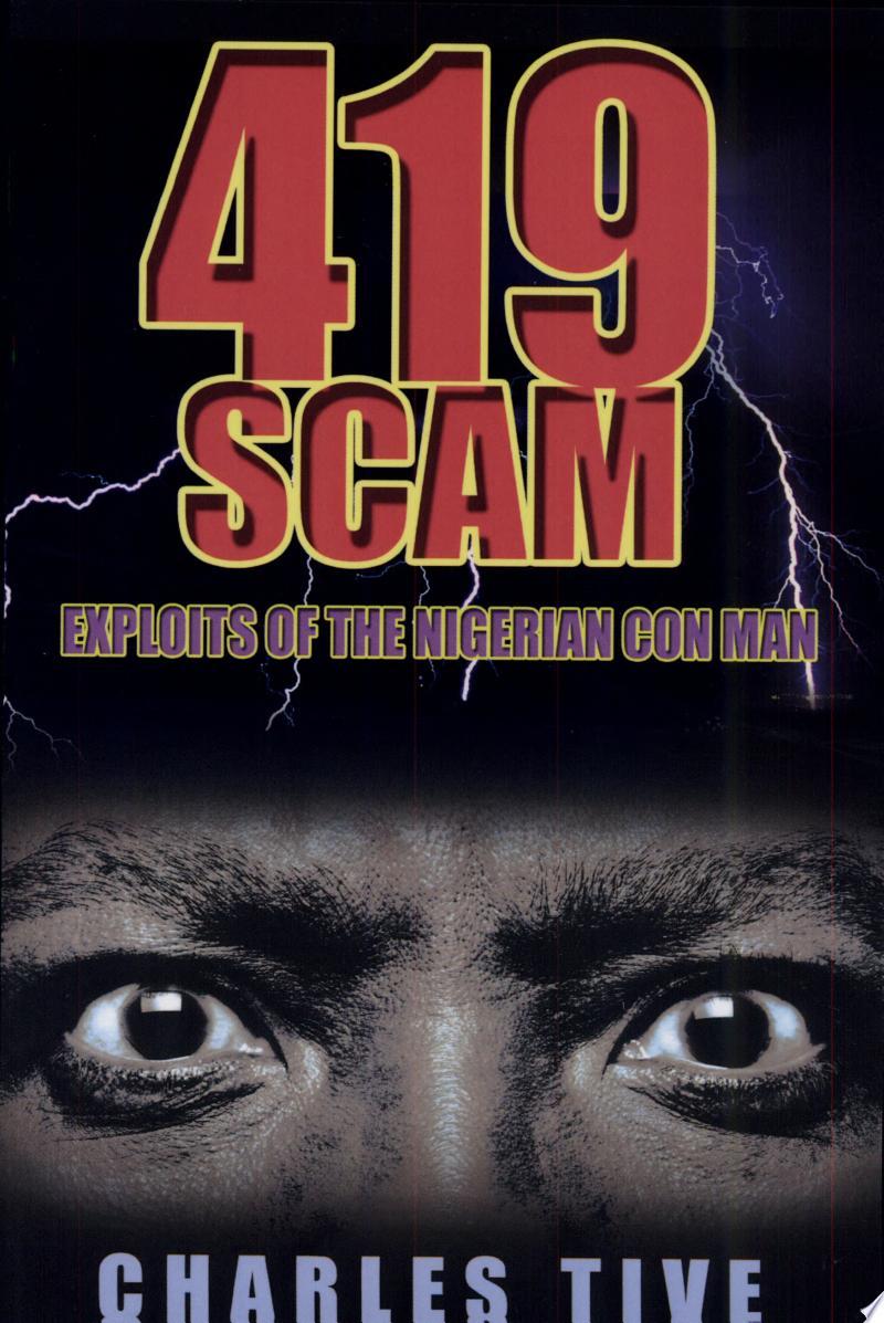 419 Scam banner backdrop