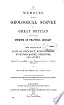 The Geology of Parts of Middlesex, Hertfordshire, Buckinghamshire, Berkshire, and Surrey