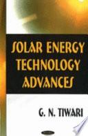 Solar Energy Technology Advances
