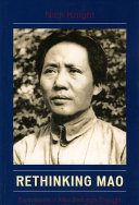 Pdf Rethinking Mao