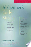 Alzheimer s Early Stages Book