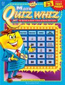 Math Quiz Whiz 3-5