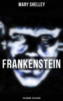 Pdf FRANKENSTEIN (The Original 1818 Edition)