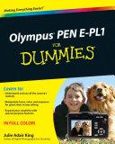Olympus PEN E-PL1 For Dummies