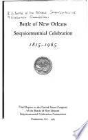 Battle of New Orleans Sesquicentennial Celebration 1815-1965