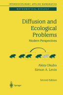 Diffusion and Ecological Problems: Modern Perspectives Pdf/ePub eBook
