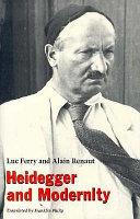 Heidegger and Modernity