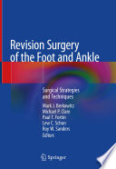 Revision Surgery of the Foot and Ankle