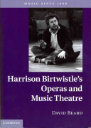 Harrison Birtwistle's Operas and Music Theatre