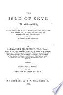 The Isle of Skye in 1882-1883