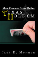 Pdf More Common Sense Online Texas Holdem