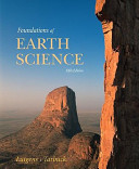 Books a la Carte for Foundations of Earth Science