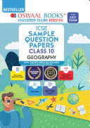Pdf Oswaal ICSE Sample Question Papers Class 10 Geography Book (Reduced Syllabus for 2021 Exam)
