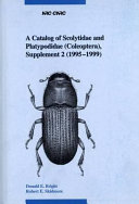 A Catalog of Scolytidae and Platypodidae (Coleoptera).