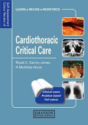 Self Assessment Colour Review of Cardiothoracic Critical Care Book