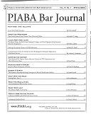 Public Investors Arbitration Bar Association Bar Journal