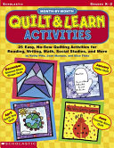 Month By Month Quilt   Learn Activities