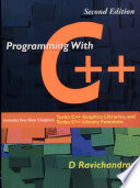 Programming with C++,2e