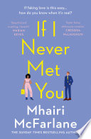 If I Never Met You Book
