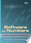 Software By Numbers Book PDF
