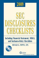 Sec Disclosures Checklists 2009
