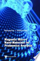Magnetic Micro  nano materials For Proteomics Analysis